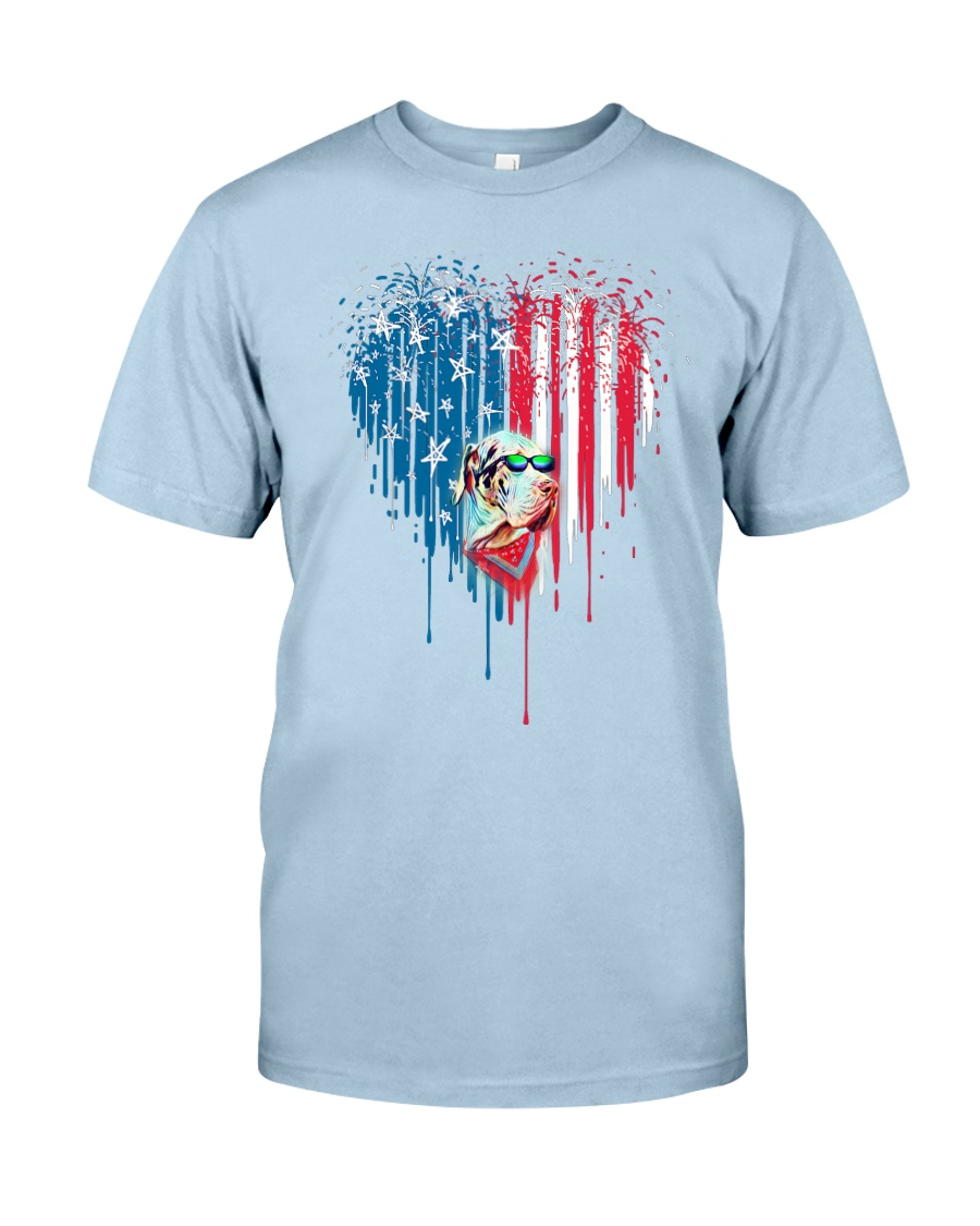 Great-Dane-Bleeding-Heart-American Classic T-Shirt