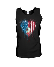 Great-Dane-Bleeding-Heart-American Unisex Tank thumbnail