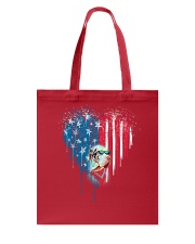Great-Dane-Bleeding-Heart-American Tote Bag tile