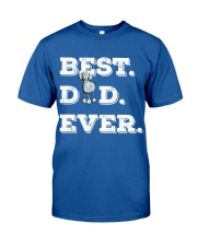 Best Dad Ever Weimaraner gift father days Classic T-Shirt front