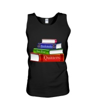 Bookmarks Are For Quitters T Shirt Unisex Tank thumbnail