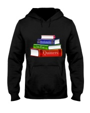 Bookmarks Are For Quitters T Shirt Hooded Sweatshirt thumbnail