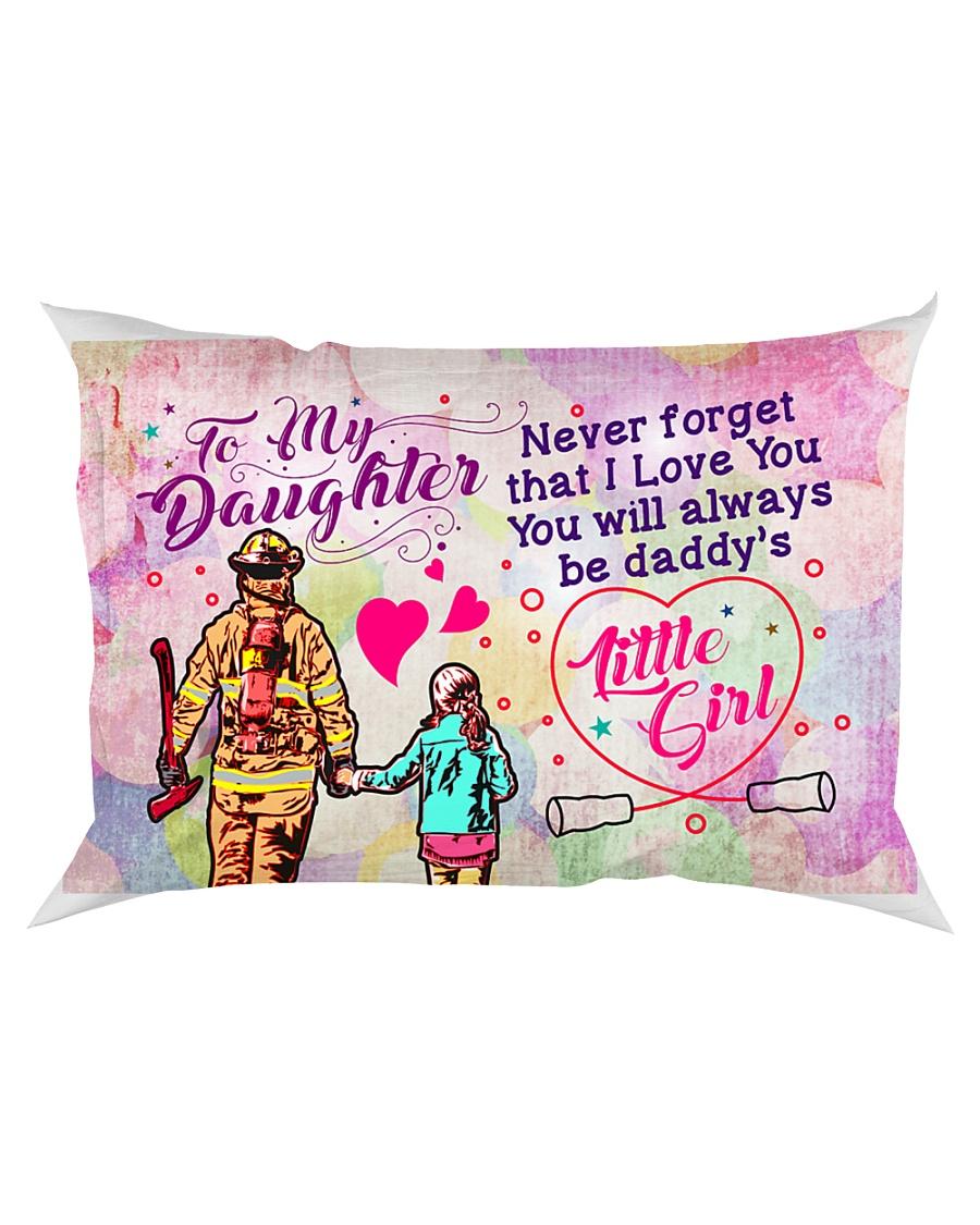 GIFT FOR A FIREFIGHTER'S DAUGHTER - PREMIUM Rectangular Pillowcase