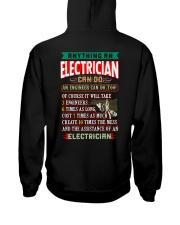 ELECTRICIAN vs Engineer Shirt Hooded Sweatshirt tile