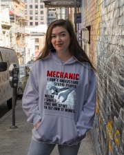 Mechanic Hooded Sweatshirt lifestyle-unisex-hoodie-front-1