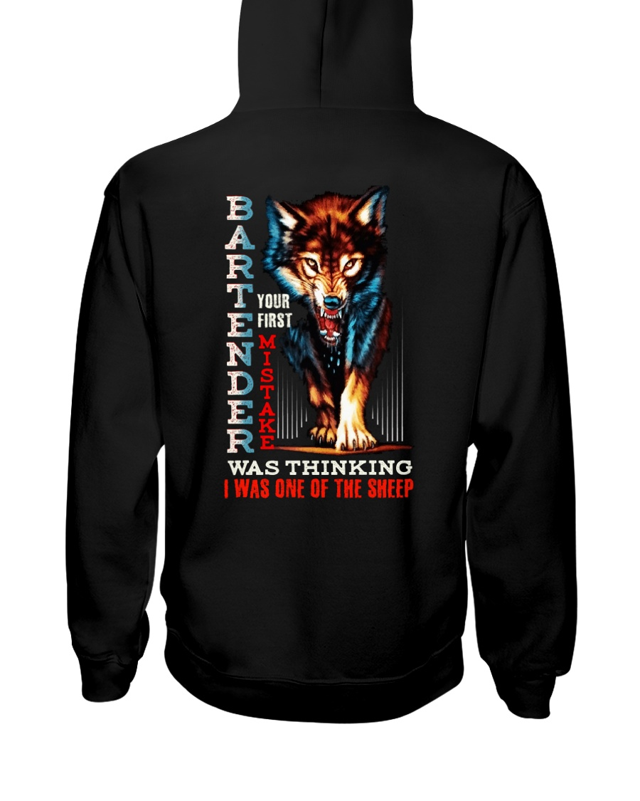 BARTENDER - I'M THE WOLF Hooded Sweatshirt