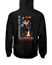 BARTENDER - I'M THE WOLF Hooded Sweatshirt back