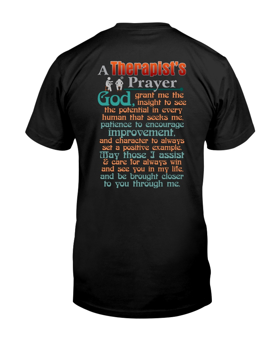 A THERAPIST'S PRAYER Classic T-Shirt