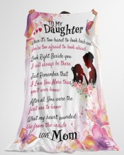 """Gift For Daughter- Cyber Monday Sale Large Fleece Blanket - 60"""" x 80"""" aos-coral-fleece-blanket-60x80-lifestyle-front-10"""