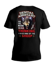 Dental Assistant - I'm the Wolf V-Neck T-Shirt thumbnail