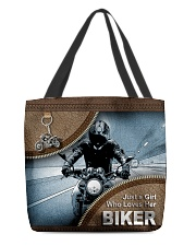 BIKER'S GIRL All-over Tote front