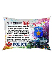 GIFT FOR A POLICE WIFE- PREMIUM Rectangular Pillowcase front