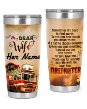 Firefighter's Wife 20oz Tumbler front