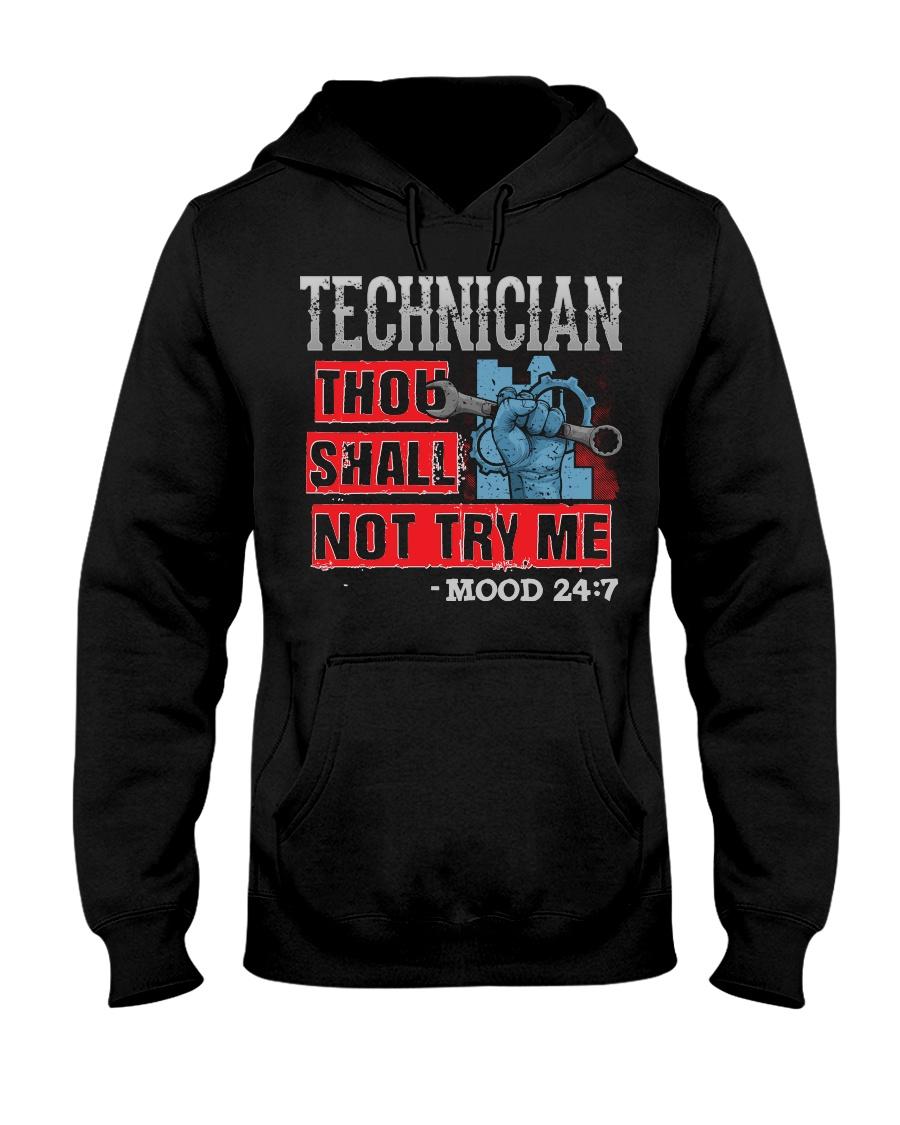TECHNICIAN Hooded Sweatshirt