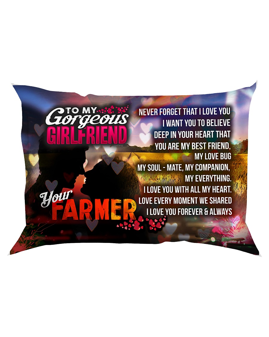 GIFT FOR A FARMER'S GIRLFRIEND  - PREMIUM Rectangular Pillowcase