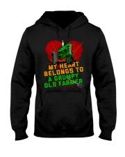 Old Farmer's Wife Hooded Sweatshirt front