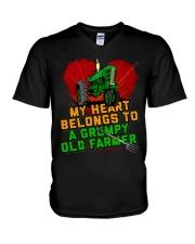 Old Farmer's Wife V-Neck T-Shirt tile