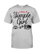 TRUCKER'S WIFE Classic T-Shirt front