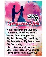 GIFT FOR YOUR WIFE - PREMIUM Vertical Poster tile