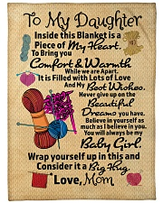 "Gift For Daughter - Black Friday Sale Large Fleece Blanket - 60"" x 80"" front"
