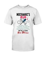 MECHANIC'S WIFE Classic T-Shirt front