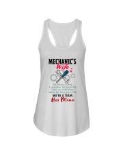 MECHANIC'S WIFE Ladies Flowy Tank thumbnail