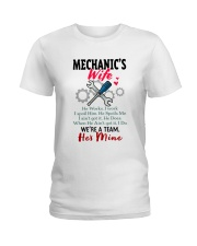 MECHANIC'S WIFE Ladies T-Shirt thumbnail