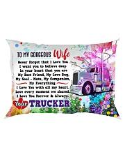 GIFT FOR A TRUCKER'S  WIFE - PREMIUM Rectangular Pillowcase front