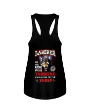 Laborer - I'm the Wolf Ladies Flowy Tank thumbnail