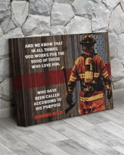 FIREFIGHTER - Premium 14x11 Gallery Wrapped Canvas Prints aos-canvas-pgw-14x11-lifestyle-front-13