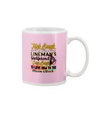 Lineman's Girlfriend Mug tile