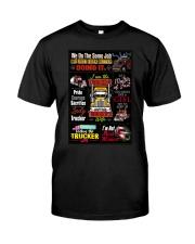 Truck Driver Poster Classic T-Shirt thumbnail