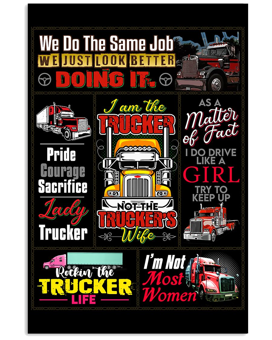 Truck Driver Poster 11x17 Poster