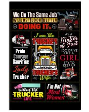 Truck Driver Poster 11x17 Poster front