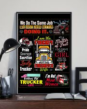 Truck Driver Poster 11x17 Poster lifestyle-poster-2