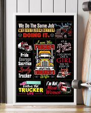 Truck Driver Poster 11x17 Poster lifestyle-poster-4