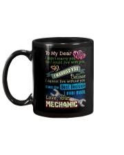 MECHANIC'S WIFE Mug back