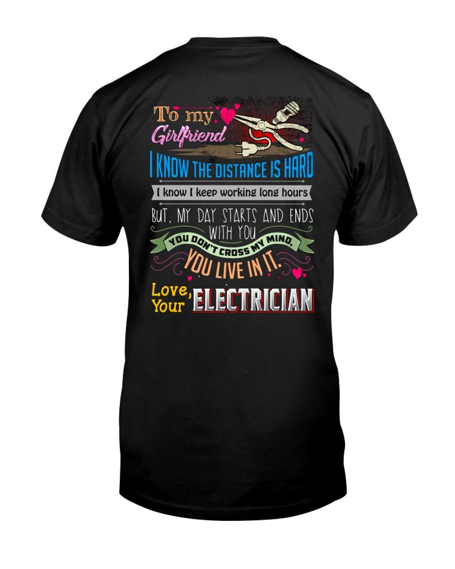 ELECTRICIAN'S  GIRLFRIEND Classic T-Shirt