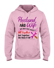 Mechanic's Wife Hooded Sweatshirt front