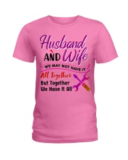 Mechanic's Wife Ladies T-Shirt tile