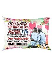 GIFT FOR YOUR WIFE - PREMIUM Rectangular Pillowcase back