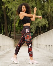 FIREFIGHTER'S WIFE High Waist Leggings aos-high-waist-leggings-lifestyle-10