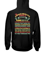 Home Health Aide Hooded Sweatshirt back