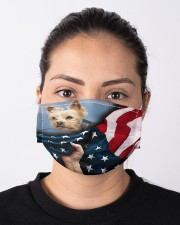 Yorkie Lover Cloth face mask aos-face-mask-lifestyle-01