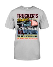 Lady Trucker's Husband Classic T-Shirt tile