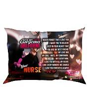 GIFT FOR A NURSE'S  GIRLFRIEND - PREMIUM Rectangular Pillowcase front