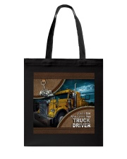TRUCKER'S GIRL- TOTE BAG Tote Bag front