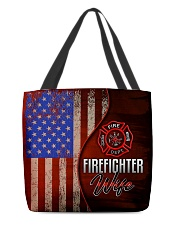 Firefighter's Wife All-over Tote back
