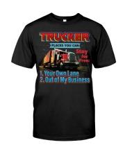 Trucker Classic T-Shirt front