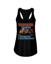 Trucker Ladies Flowy Tank thumbnail